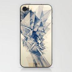 Polygon Tower iPhone & iPod Skin