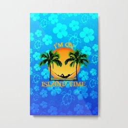 Island Time Metal Print