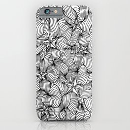 Star waves iPhone Case