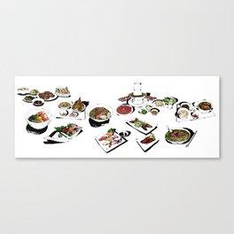 Gluttony 2 Canvas Print