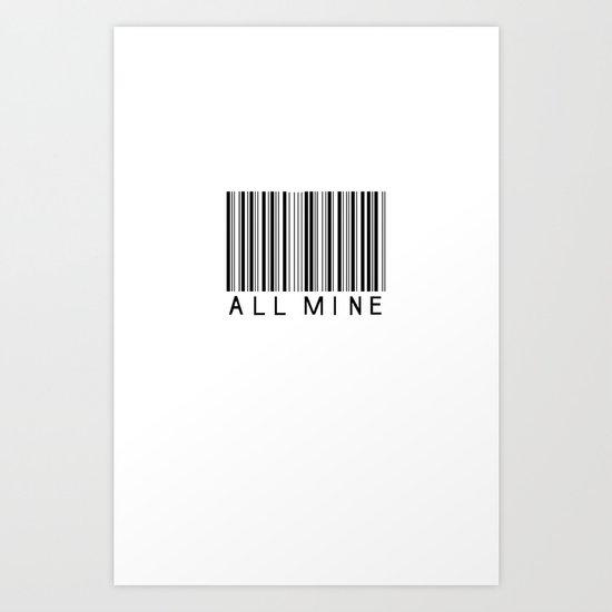 Make it yours. Art Print