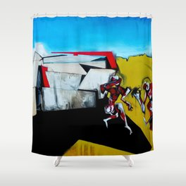It's the Thinness of your Shadow Shower Curtain