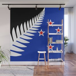 Proposed new national flag design for New Zealand Wall Mural