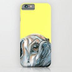 Pug, printed from an original painting by Jiri Bures Slim Case iPhone 6s