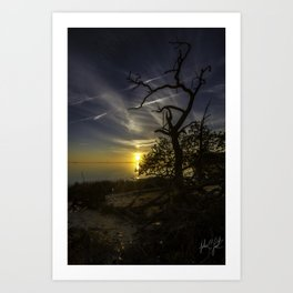 Rugged Colington, NC Sunset Art Print