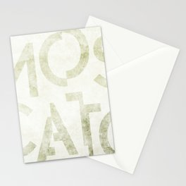 Moscato Wine Typography Stationery Cards