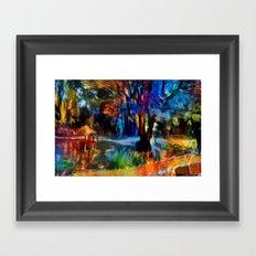 Le bois Framed Art Print