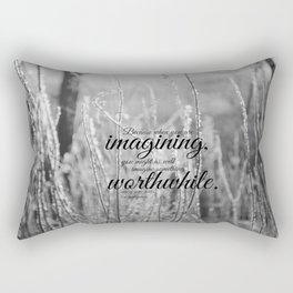 Anne Green Gables  Imagine  Rectangular Pillow