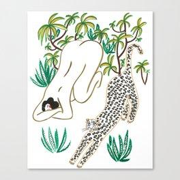 The Yoga Friends Canvas Print