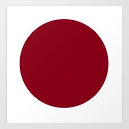 Red I. Art Print