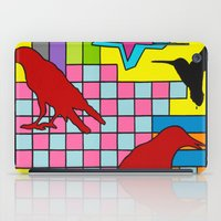 "onward iPad Cases featuring ""3 CAWS"" by Monty Montgomery"