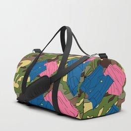 Army Girl Clothing Duffle Bag