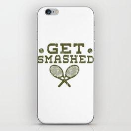 Tennis tournament tennis racket player gift iPhone Skin