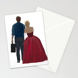At the Beginning with You Stationery Cards
