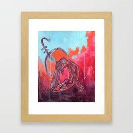 Scorpio | Yoga Art Framed Art Print