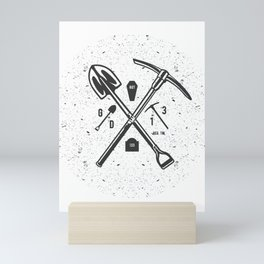 Grave Digger Mini Art Print