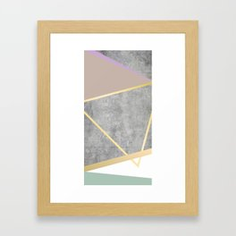 Golden Luxe Framed Art Print
