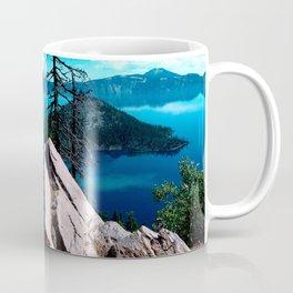 Volcano Deep Blue Crater Lake Oregon USA Coffee Mug