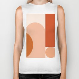 abstract minimal #8 Biker Tank