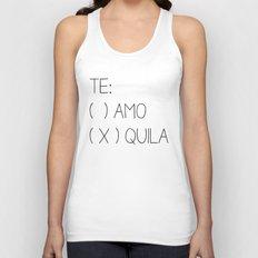 Tequila Unisex Tank Top