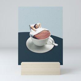 Morning rituals Mini Art Print
