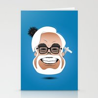 hayao miyazaki Stationery Cards featuring Dōmo Arigatō Hayao Miyazaki (Color version) by Arian Noveir