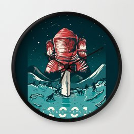 2001: A Space Odyssey - project cover Wall Clock