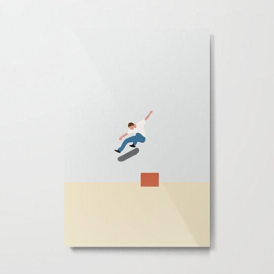 Skateboarding Nr.02 Metal Print