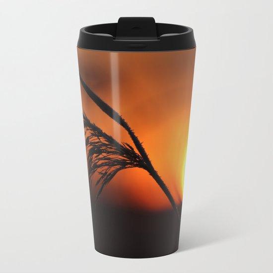 Good Morning Sun  Metal Travel Mug