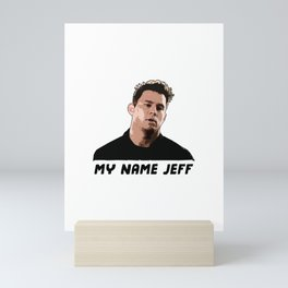 My Name Jeff Mini Art Print