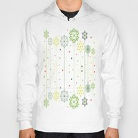 deco Hoodies featuring Holidays Deco by Elena Indolfi