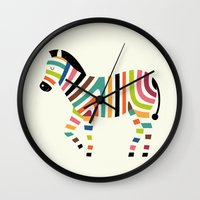 code Wall Clocks featuring Magic code by Andy Westface