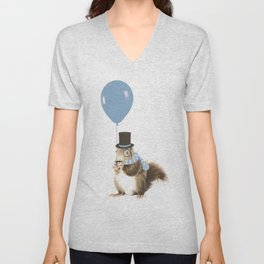 party squirrel Unisex V-Neck