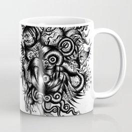 Spaceship Girl_Black Coffee Mug