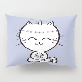 Lily Unicorn Kitty Pillow Sham