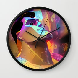 The Man Wall Clock