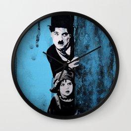 KINO - Chaplin and the kid Wall Clock