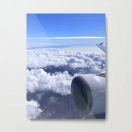 Aerial image IV Metal Print