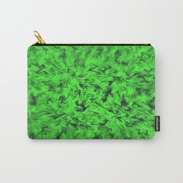 Fiery Green Carry-All Pouch