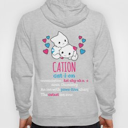 Chemistry Pawsitive Cute Science Cat Cation Element Gift Hoody