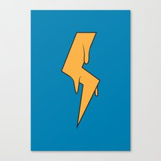 Greased Lightning Canvas Print