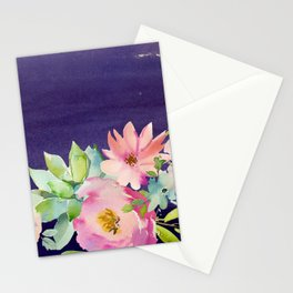 Flowers Bouquet 96 Stationery Cards