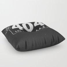 To 404 Is Human Floor Pillow