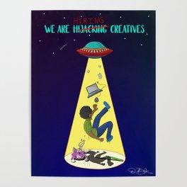 Hiring Creatives Poster