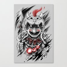 Wild M Canvas Print