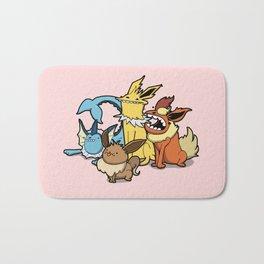 Pokémon - Number 133, 134, 135 and 136 Bath Mat