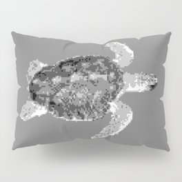 Low-Res Sea Turtle Pillow Sham