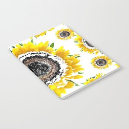 Sunflower 3 Notebook
