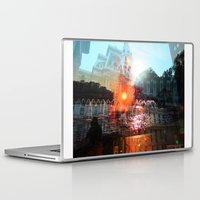 cities Laptop & iPad Skins featuring cities by aerart