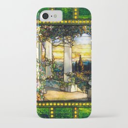 Hinds House Stained Glass Window iPhone Case